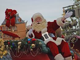 Santa Claus in 2014