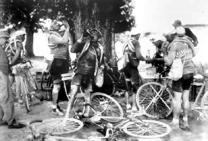 The 1924 Tour De France.