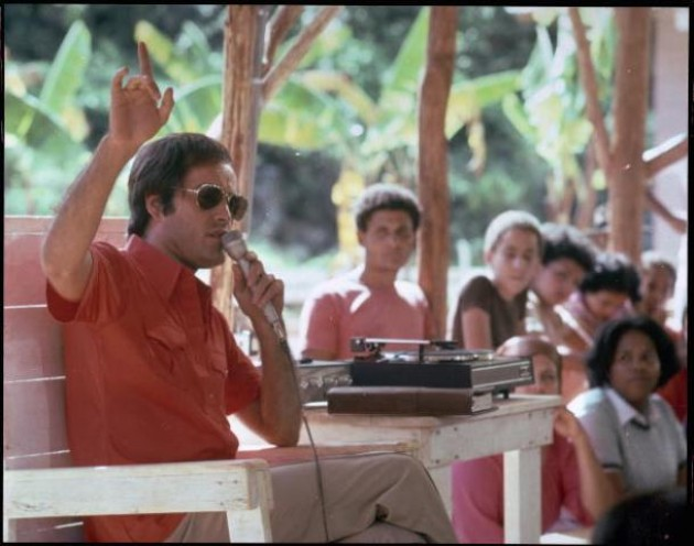 Jim Jones in Jonestown, Guyana, 1978