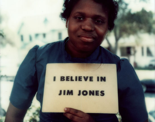 One of Jones' followers