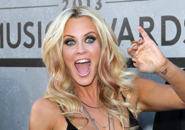 Jenny McCarthy registering surprise that anyone ever listens to her.