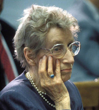 Coffee burn victim Stella Liebeck in 1994.