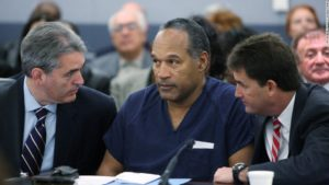 OJ Simpson on trial, 2008.