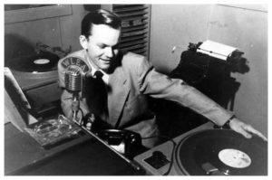 Bob Crane at WLEA, in the 1950s.