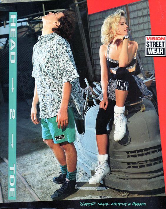 Gator Rogowski and Brandi, 1989.